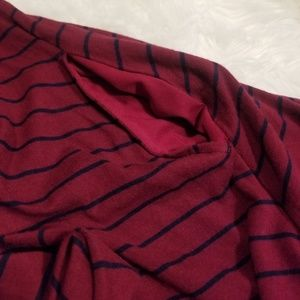 Maurices Tops - 💘 Maurices Striped Flowy Blouse